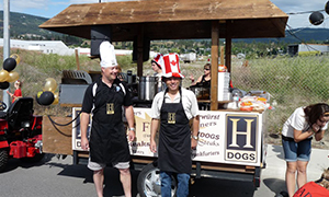 Hot diggity dog, parade float proves lawyers are human