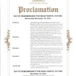 Proclamation - NDoR 2013