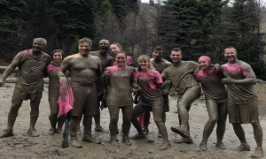 "Mud, sweat and ""serious"" injuries"