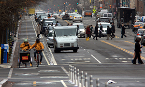 Motorists: Pay attention to pedestrians and cyclists