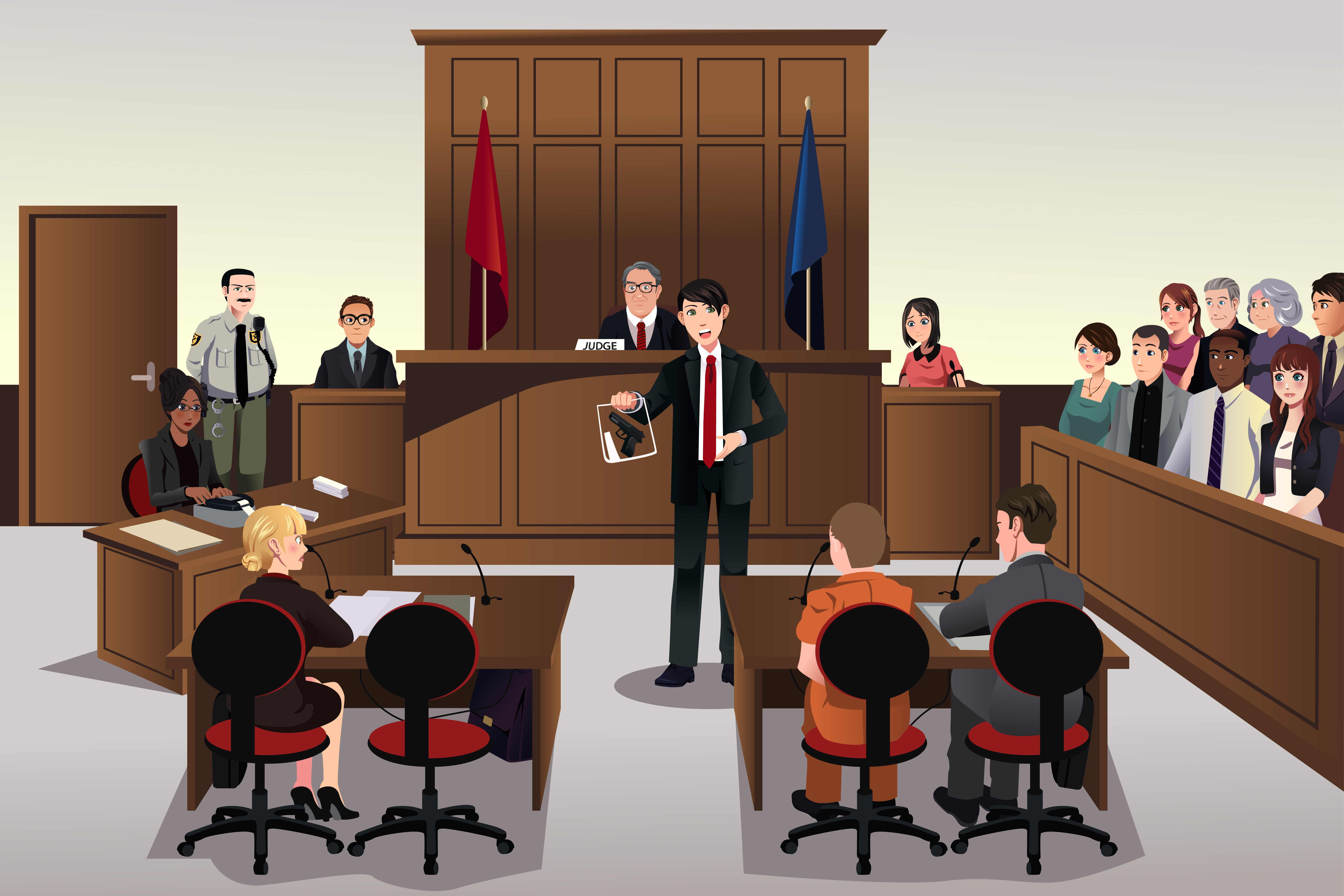 taking it to trial can be risky hergott law