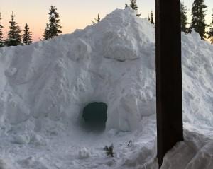 Build a Snow Hut! Too Risky?