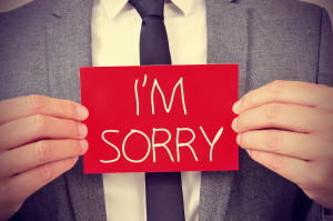 Lawyer's Apology